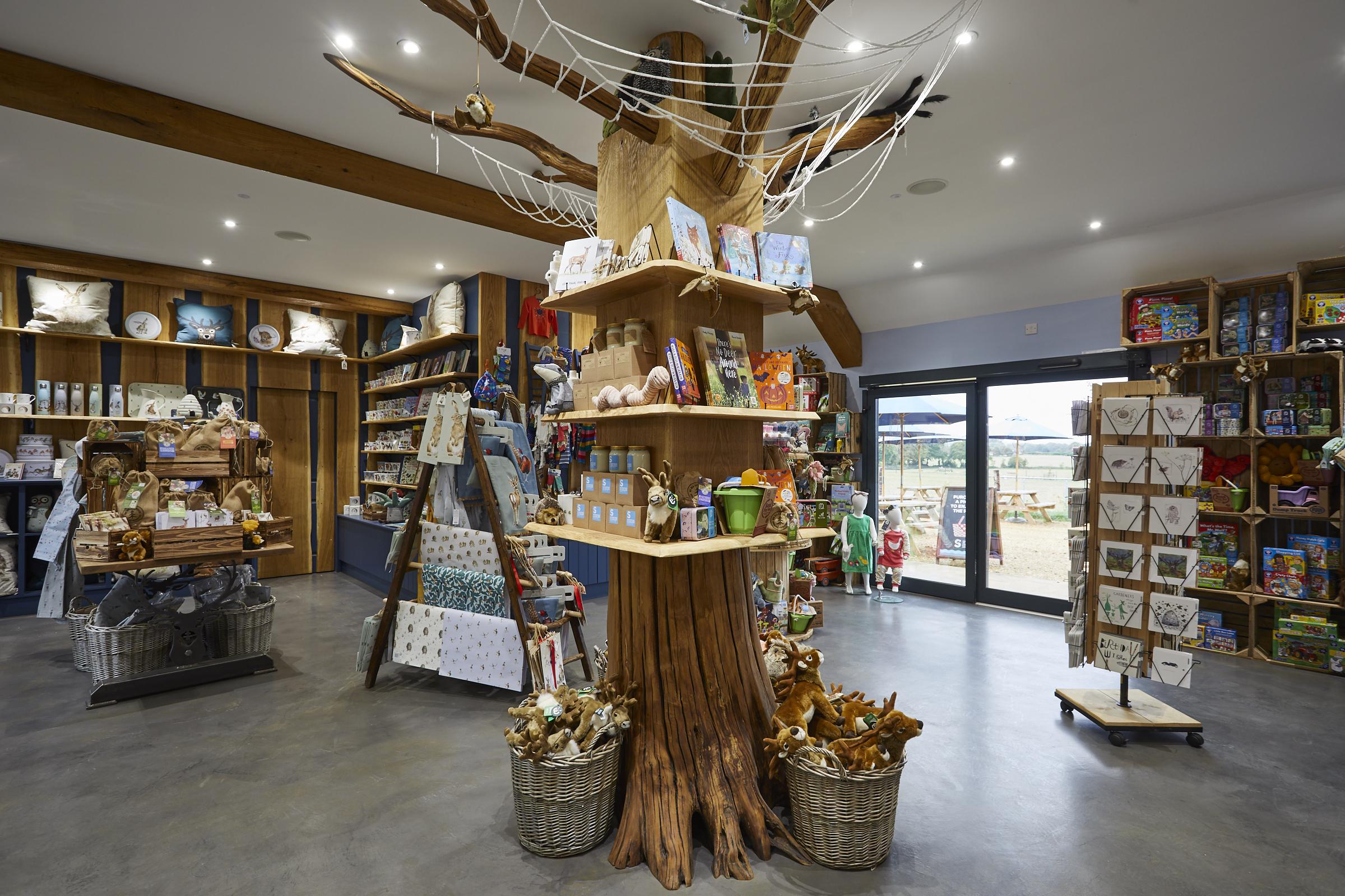Visitor Centre, Gift Shop at Sky Park Farm